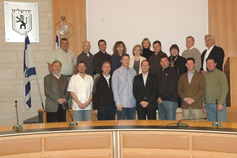 AIPAC_Christian_Leaders_with_Mayor_Nir_Barkat